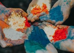 رنگ الکترواستاتیک چیست و رنگ پودری